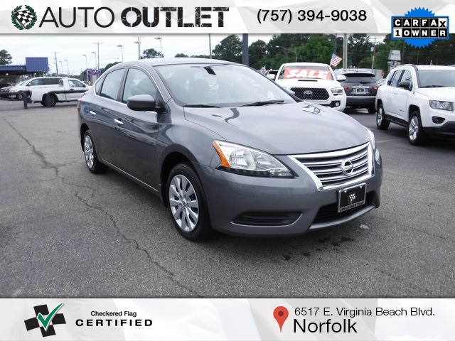 Pre-Owned 2015 Nissan Sentra S