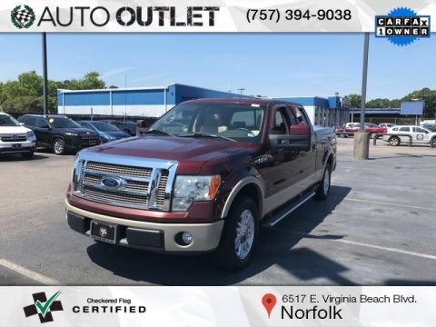 Pre-Owned 2009 Ford F-150 Lariat